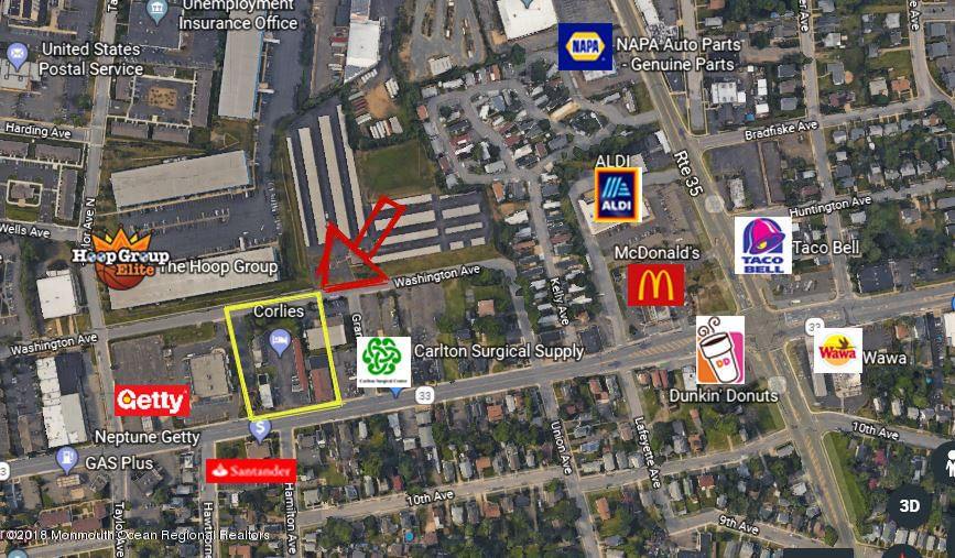Commercial for Sale at 1601 Corlies Avenue 1601 Corlies Avenue Neptune, New Jersey 07753 United States