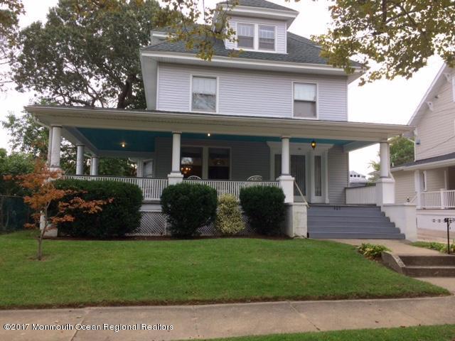 Maison unifamiliale pour l à louer à 405 Evergreen Avenue 405 Evergreen Avenue Bradley Beach, New Jersey 07720 États-Unis