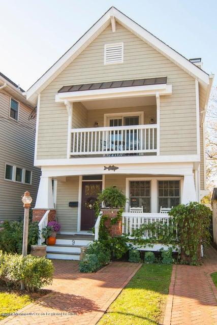 独户住宅 为 出租 在 9 Rogers Avenue 9 Rogers Avenue Manasquan, 新泽西州 08736 美国