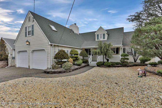 Casa Unifamiliar por un Alquiler en 288 Wherry Lane 288 Wherry Lane Mantoloking, Nueva Jersey 08738 Estados Unidos