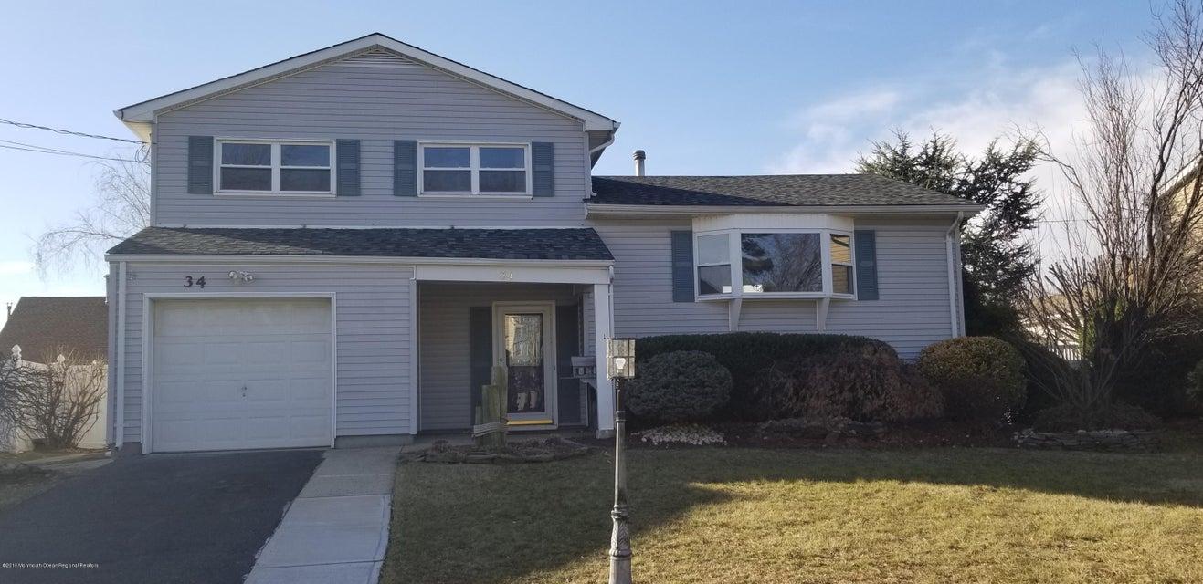 Einfamilienhaus für Verkauf beim 34 Galway Drive 34 Galway Drive Hazlet, New Jersey 07730 Vereinigte Staaten