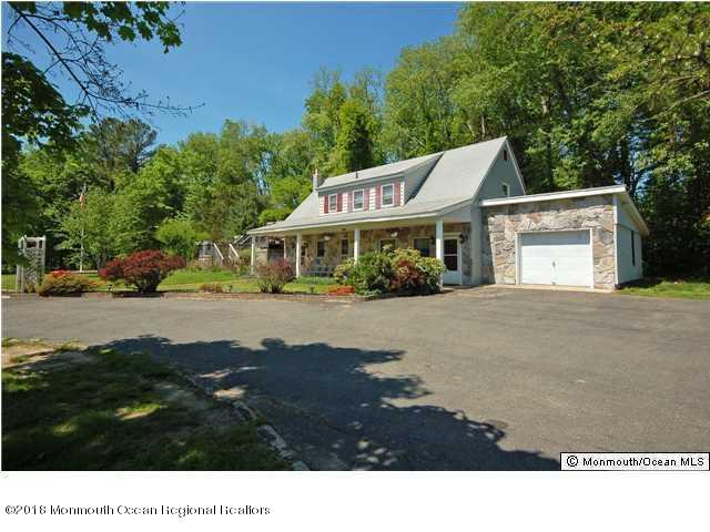 Maison unifamiliale pour l Vente à 440 Stagecoach Road 440 Stagecoach Road Clarksburg, New Jersey 08510 États-Unis