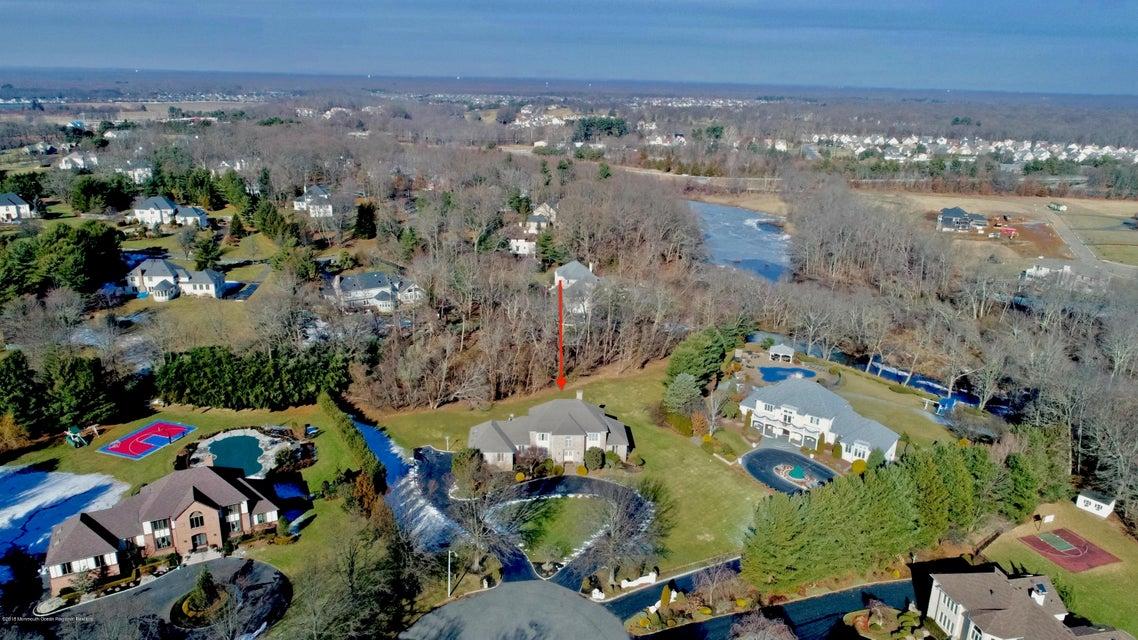 Taylor Lake Access Drone shot