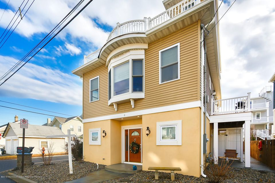 Maison unifamiliale pour l Vente à 6 Shrewsbury Way 6 Shrewsbury Way Sea Bright, New Jersey 07760 États-Unis