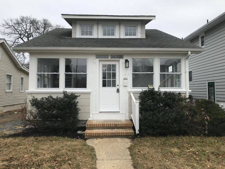 Single Family Home for Sale at 1810 Bradley Terrace 1810 Bradley Terrace Lake Como, New Jersey 07719 United States