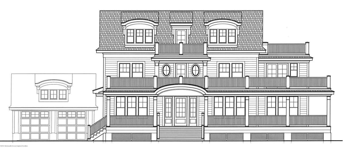 Single Family Home for Sale at 200 5th Avenue 200 5th Avenue Belmar, New Jersey 07719 United States