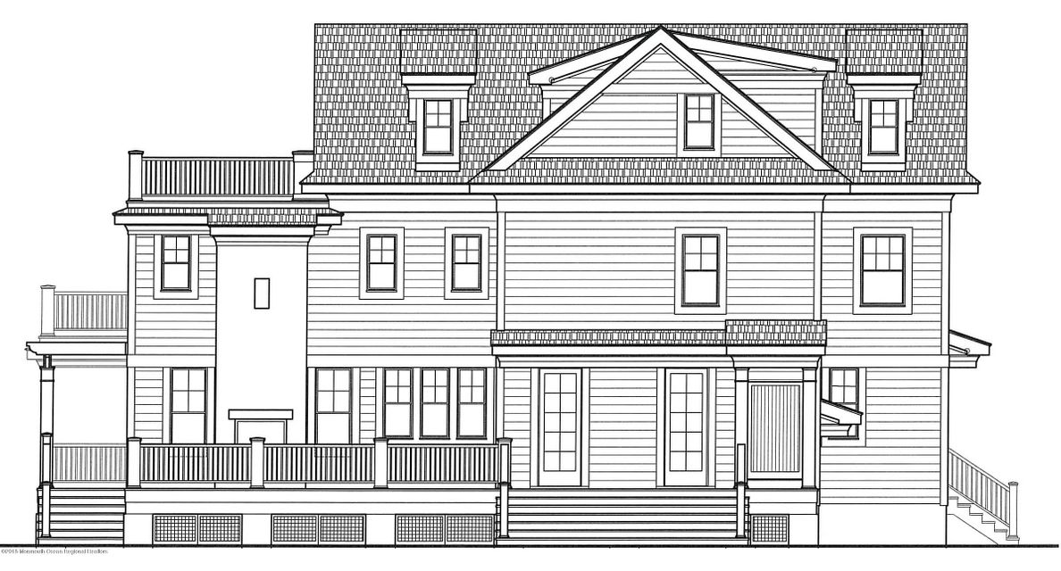 Back Elevation View