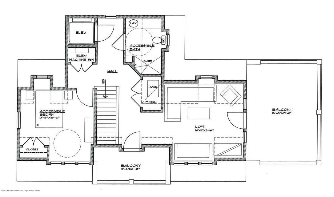 Half Story Floor Plan