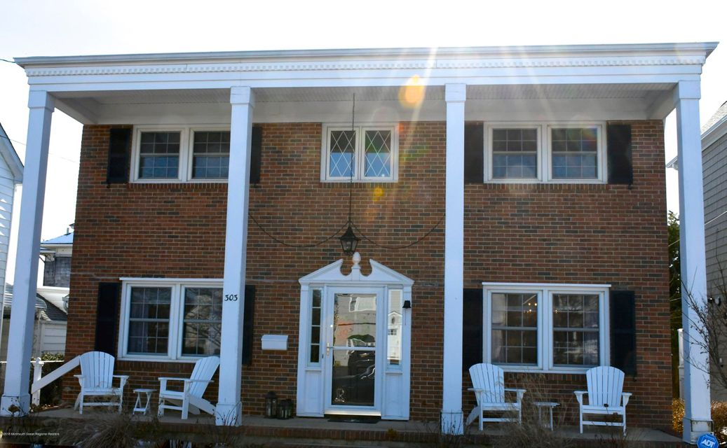 Single Family Home for Rent at 303 Pennsylvania Avenue 303 Pennsylvania Avenue Spring Lake, New Jersey 07762 United States