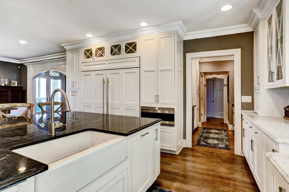 Farm Sink and view into Butler's Pantry