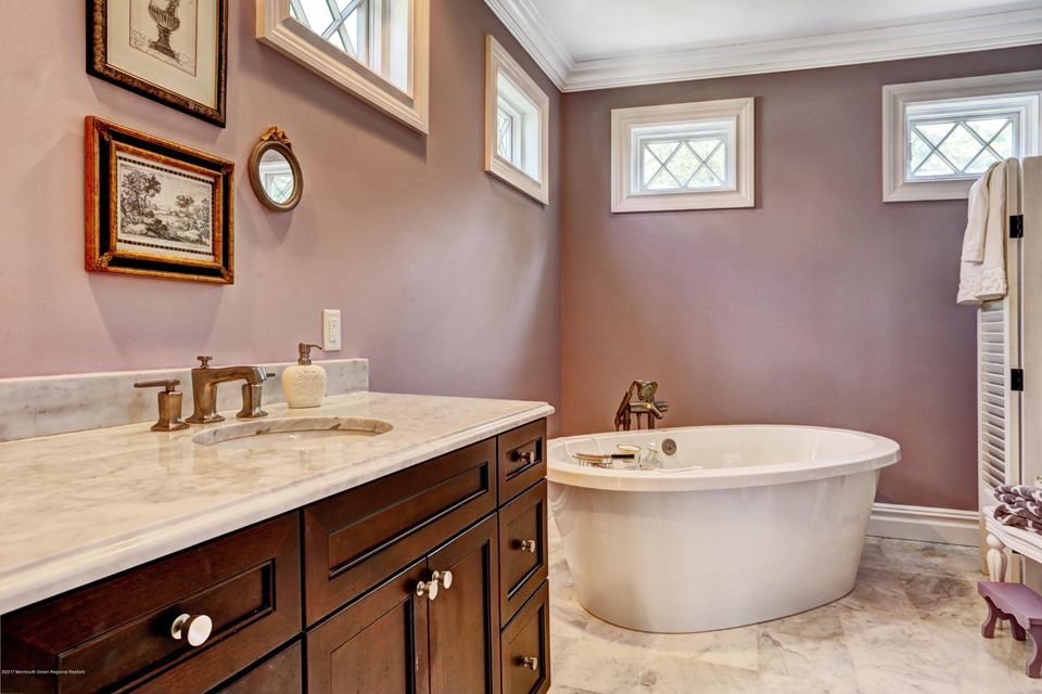 Her Bathroom with Oval Tub