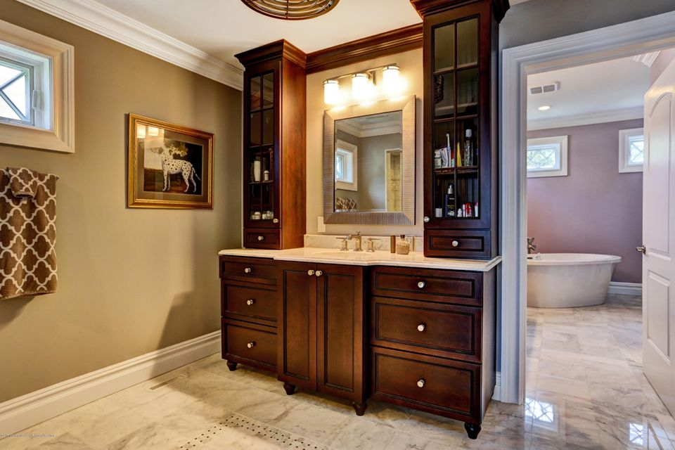 His Bathroom with large shower