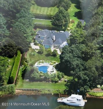 Maison unifamiliale pour l à louer à 14 Buttonwood Lane 14 Buttonwood Lane Rumson, New Jersey 07760 États-Unis