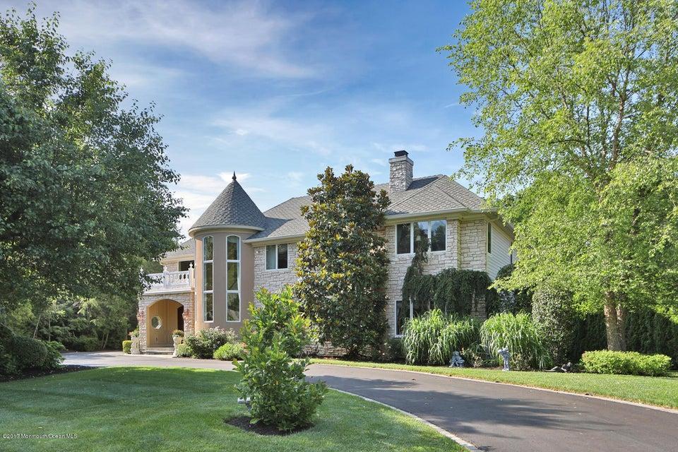 Maison unifamiliale pour l Vente à 39 Windsor Drive 39 Windsor Drive Little Silver, New Jersey 07739 États-Unis