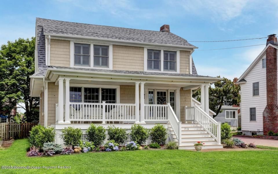 Single Family Home for Rent at 216 Ocean Road 216 Ocean Road Spring Lake, New Jersey 07762 United States