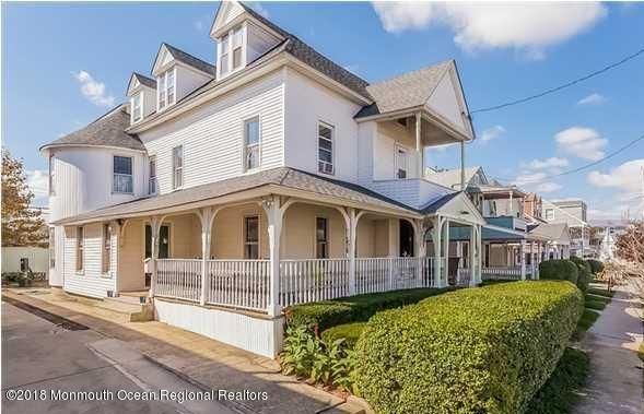 Single Family Home for Sale at 117 Cliff Avenue 117 Cliff Avenue Bradley Beach, New Jersey 07720 United States