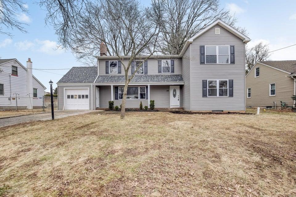 独户住宅 为 销售 在 34 Morningside Road 34 Morningside Road 科洛尼亚, 新泽西州 07067 美国