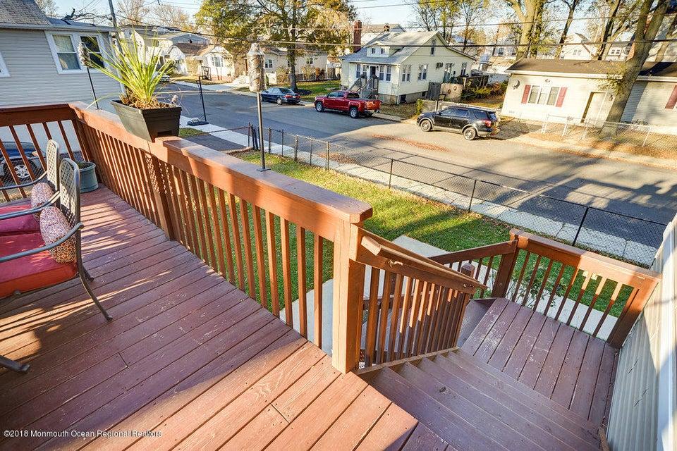 Stairs to Backyard