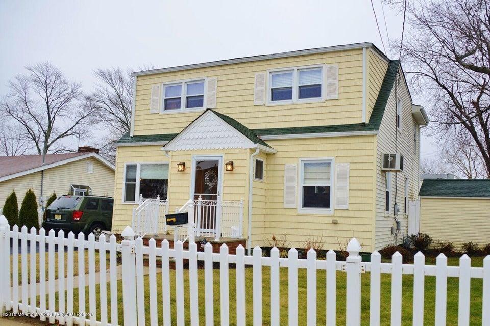 Частный односемейный дом для того Продажа на 143 Main Street 143 Main Street Port Monmouth, Нью-Джерси 07758 Соединенные Штаты