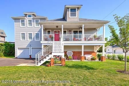 Single Family Home for Rent at 18 Valentine Street 18 Valentine Street Monmouth Beach, New Jersey 07750 United States
