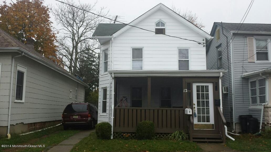 Maison unifamiliale pour l à louer à 12 Warren Street 12 Warren Street Keyport, New Jersey 07735 États-Unis