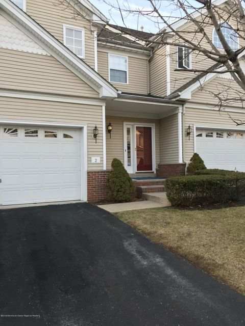 Single Family Home for Sale at 2 Village Drive 2 Village Drive Eatontown, New Jersey 07724 United States