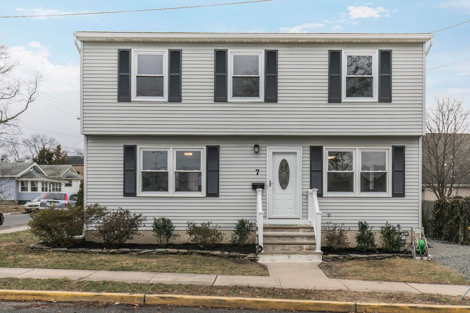 Single Family Home for Sale at 7 Bradley Street 7 Bradley Street Neptune City, New Jersey 07753 United States