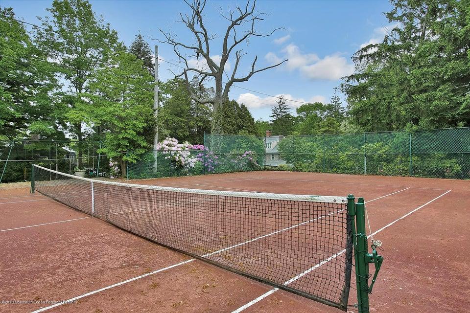 Monmouth Hills Community Tennis Court