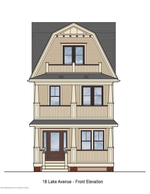 独户住宅 为 销售 在 18 Lake Avenue 18 Lake Avenue Ocean Grove, 新泽西州 07756 美国