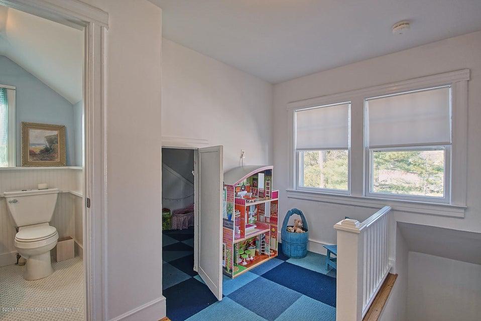 Door to children's private retreat