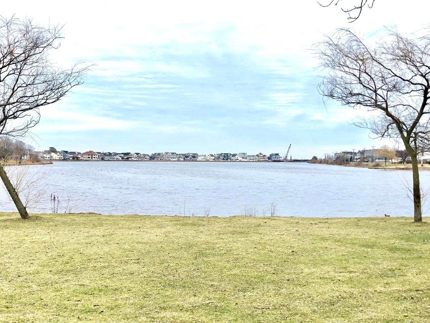 The lake is half  a block away