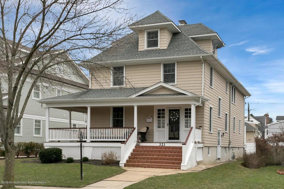 独户住宅 为 销售 在 321 Woodland Avenue 321 Woodland Avenue Avon, 新泽西州 07717 美国