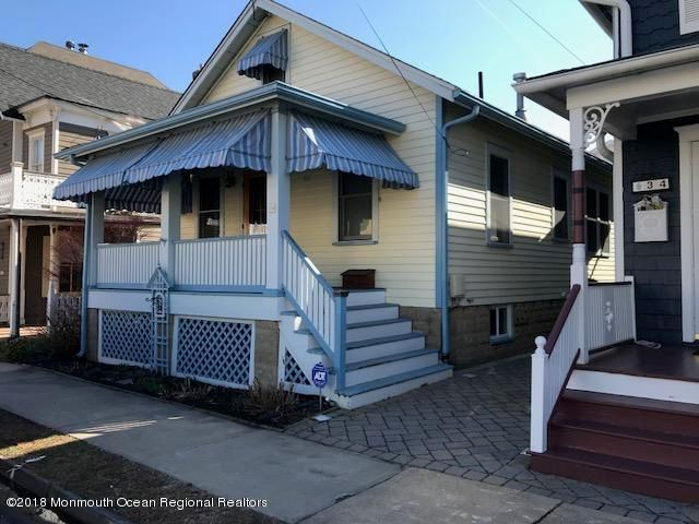 Single Family Home for Rent at 32 Olin Street 32 Olin Street Ocean Grove, New Jersey 07756 United States