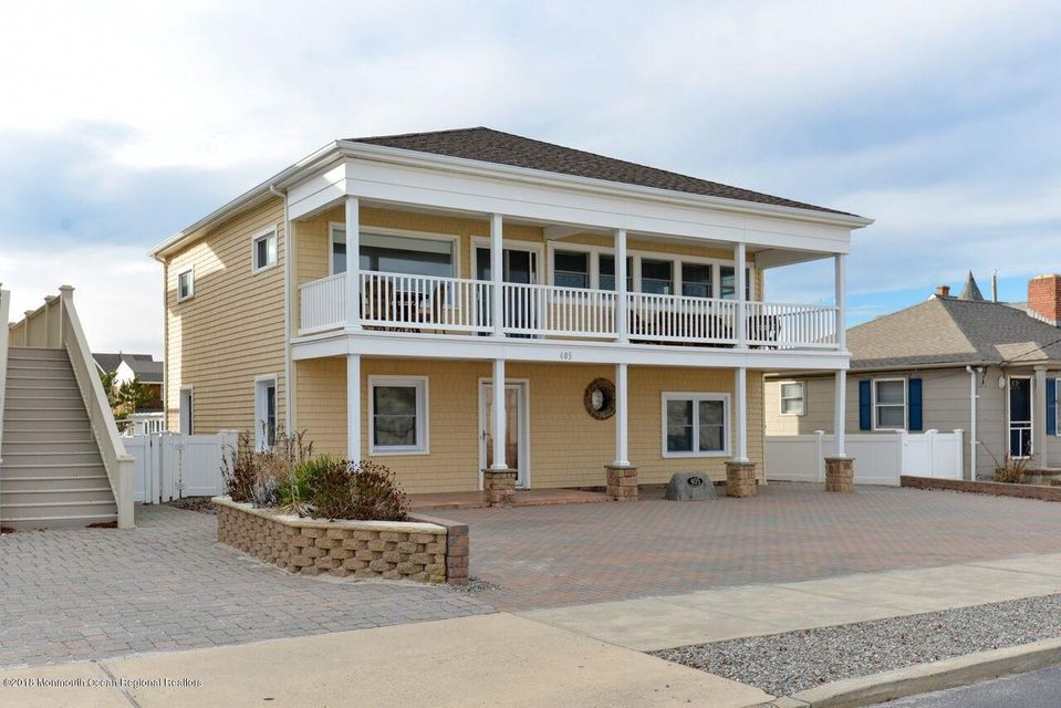 Single Family Home for Sale at 405 Ocean Avenue 405 Ocean Avenue Seaside Park, New Jersey 08752 United States