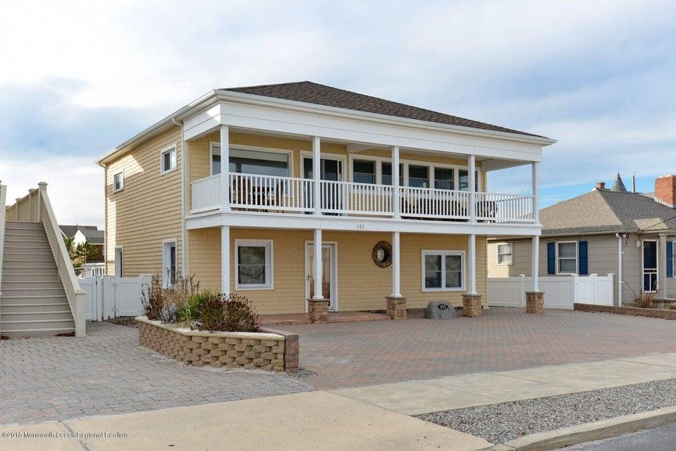 Частный односемейный дом для того Продажа на 405 Ocean Avenue 405 Ocean Avenue Seaside Park, Нью-Джерси 08752 Соединенные Штаты