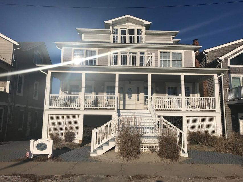 Частный односемейный дом для того Продажа на 1107 Ocean Avenue 1107 Ocean Avenue Seaside Park, Нью-Джерси 08752 Соединенные Штаты