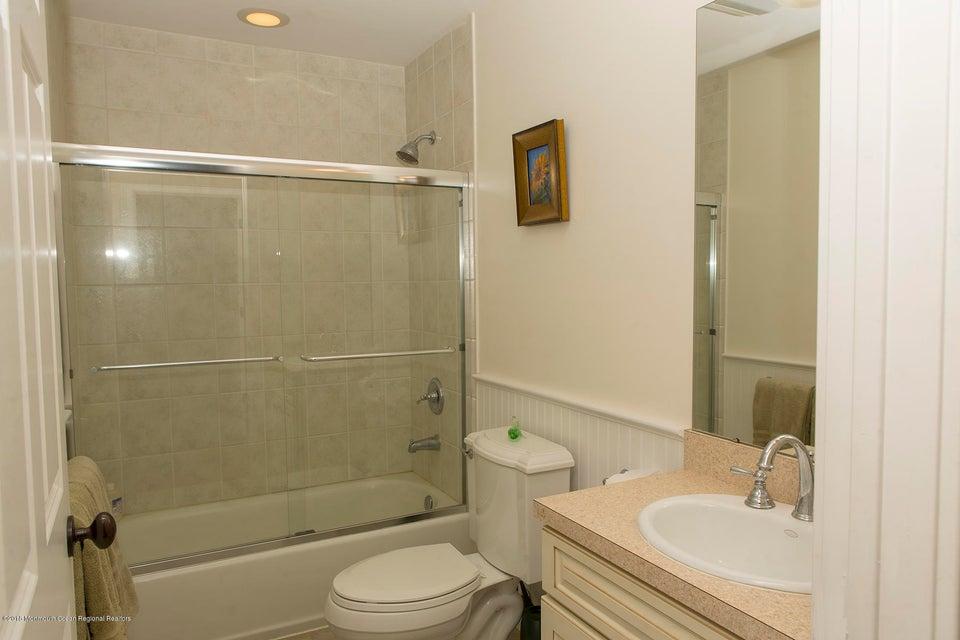 Jack & Jill Bathroom on the Second Level