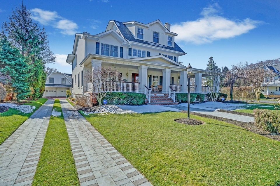 Single Family Home for Sale at 39 Worthington Avenue 39 Worthington Avenue Spring Lake, New Jersey 07762 United States