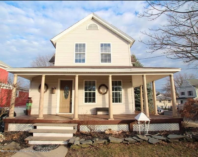 Single Family Home for Sale at 169 Church Street 169 Church Street Belford, New Jersey 07718 United States