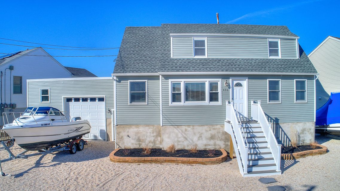 Single Family Home for Sale at 436 Morris Boulevard 436 Morris Boulevard Beach Haven West, New Jersey 08050 United States