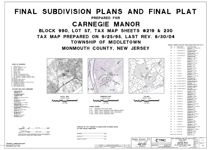 Land for Sale at 911 Middletown Lincroft Road 911 Middletown Lincroft Road Middletown, New Jersey 07748 United States
