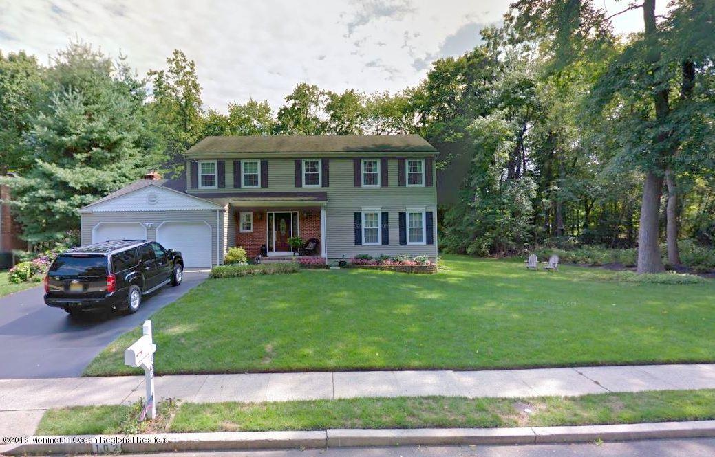一戸建て のために 売買 アット 102 Antonia Court 102 Antonia Court Lincroft, ニュージャージー 07738 アメリカ合衆国