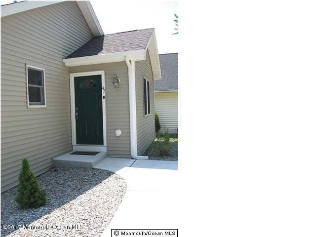 Apartamento por un Alquiler en 47 B Bayview Avenue 47 B Bayview Avenue Ocean Gate, Nueva Jersey 08740 Estados Unidos