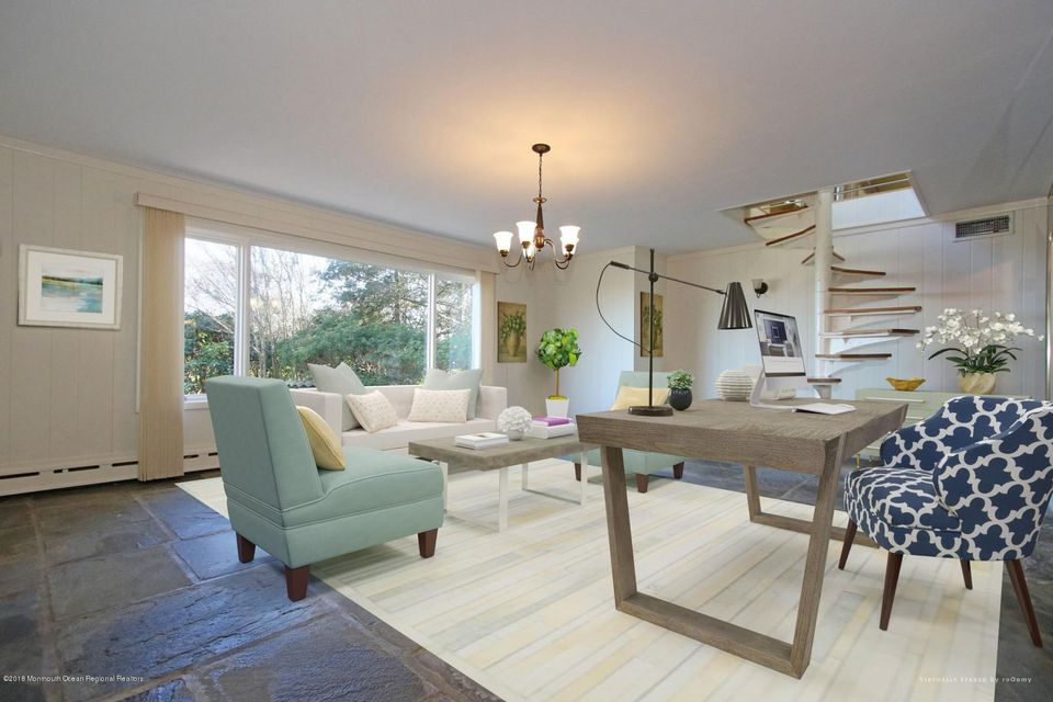 Virtual Staging  of Lower Level 1
