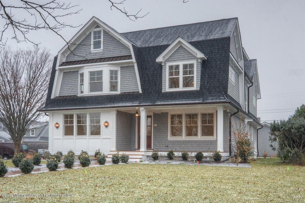 Maison unifamiliale pour l Vente à 321 Crescent Parkway 321 Crescent Parkway Sea Girt, New Jersey 08750 États-Unis