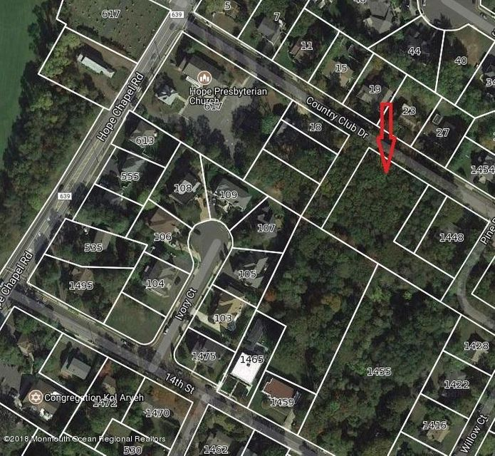 Land for Sale at 6 Country Club 6 Country Club Lakewood, New Jersey 08701 United States