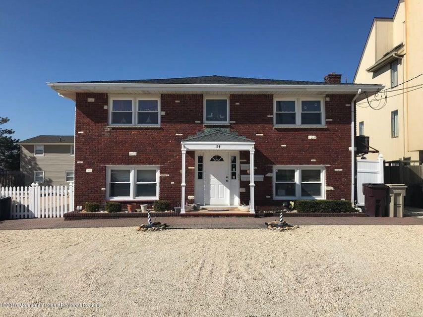 Maison avec plusieurs logements pour l Vente à 34 23rd Avenue 34 23rd Avenue South Seaside Park, New Jersey 08752 États-Unis