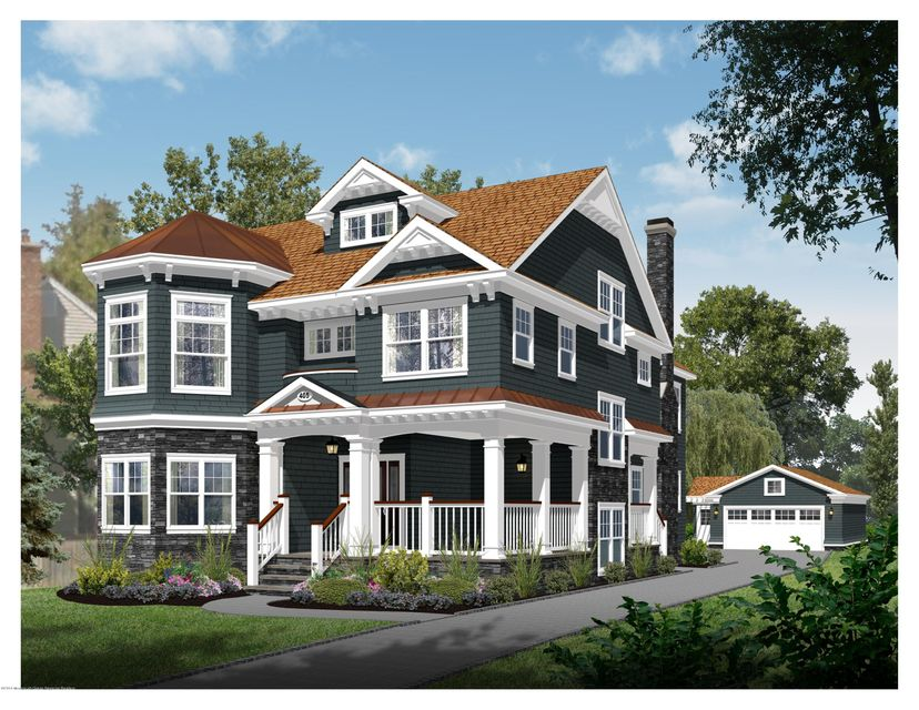 405 Beacon Front Elevation