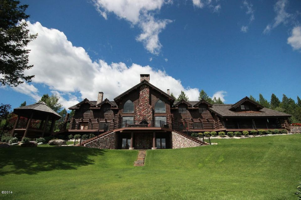 Single Family Home for Sale at 455 Blanchard Lake Drive 455 Blanchard Lake Drive Whitefish, Montana 59937 United States