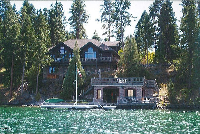 Single Family Home for Sale at 45326 Meadowlark Lane Big Arm, Montana 59910 United States